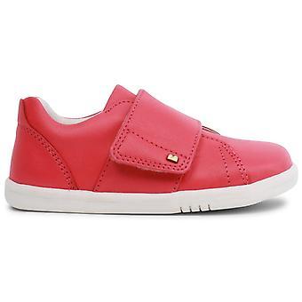 Bobux I-walk Girls Boston Shoes Watermelon