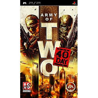 Army of Two den 40 års dag (PSP)-nye