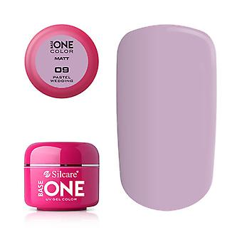 Base one-matte-Pastel wedding 5g UV gel