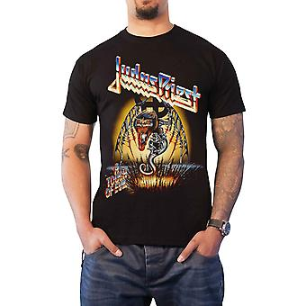 Judas Priest T Shirt Touch Of Evil Live band logo new Official Mens Black