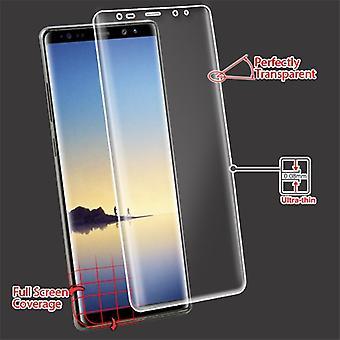 MYBAT Screen Protector (w/gebogen dekking) voor Galaxy Note 8