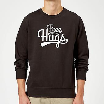 Free Hugs Sweatshirt - Black