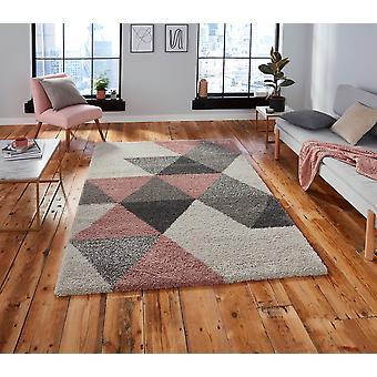 Royal Nomadic 5741 Creme rosa Rechteck Teppiche Plain/Fast einfache Teppiche