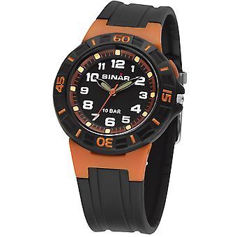 SINAR jeugd horloge kinderen horloge analoge Quartz rubber XB-20-9