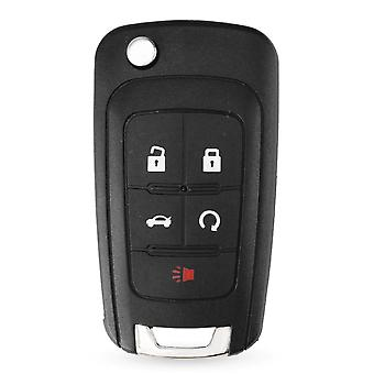 5 button remote key shell for Chevrolet