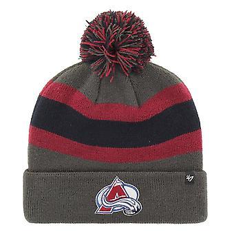 47 Brand Knit Winter Hat - BREAKAWAY Colorado Avalanche