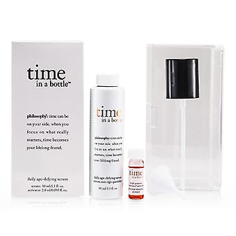 Philosophy Time In A Bottle Daily Age-defying Serum - 2pcs