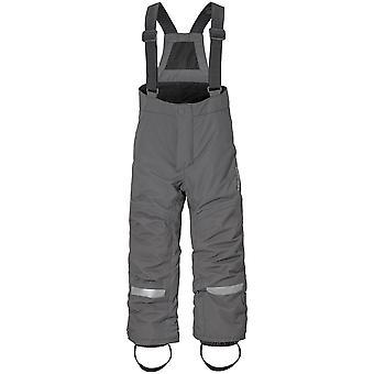 Didriksons Idre 3 Kids Junior Ski Pants Salopettes | Throne Grey