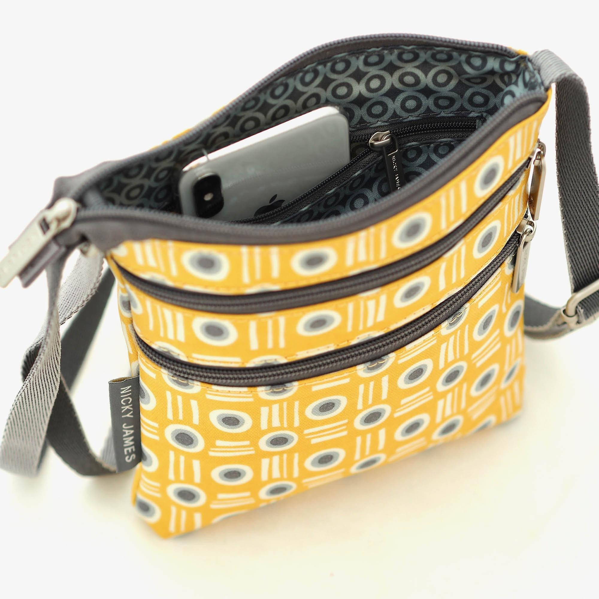 Nicky James Mustard Pot Mini Crossbody Bag