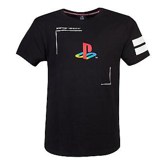 Sony PlayStation Tech19 T-Shirt mannlig X-stor svart (TS420704SNY-XL)