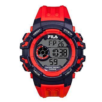 Fila men's watch wristwatch digital sport 38-188-002 silicone