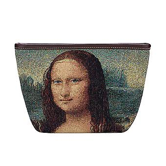 Da vinci-mona lisa Make-up-Beutel von signare tapestry/Make-eup-Kunst-Kunst-ldv-mona