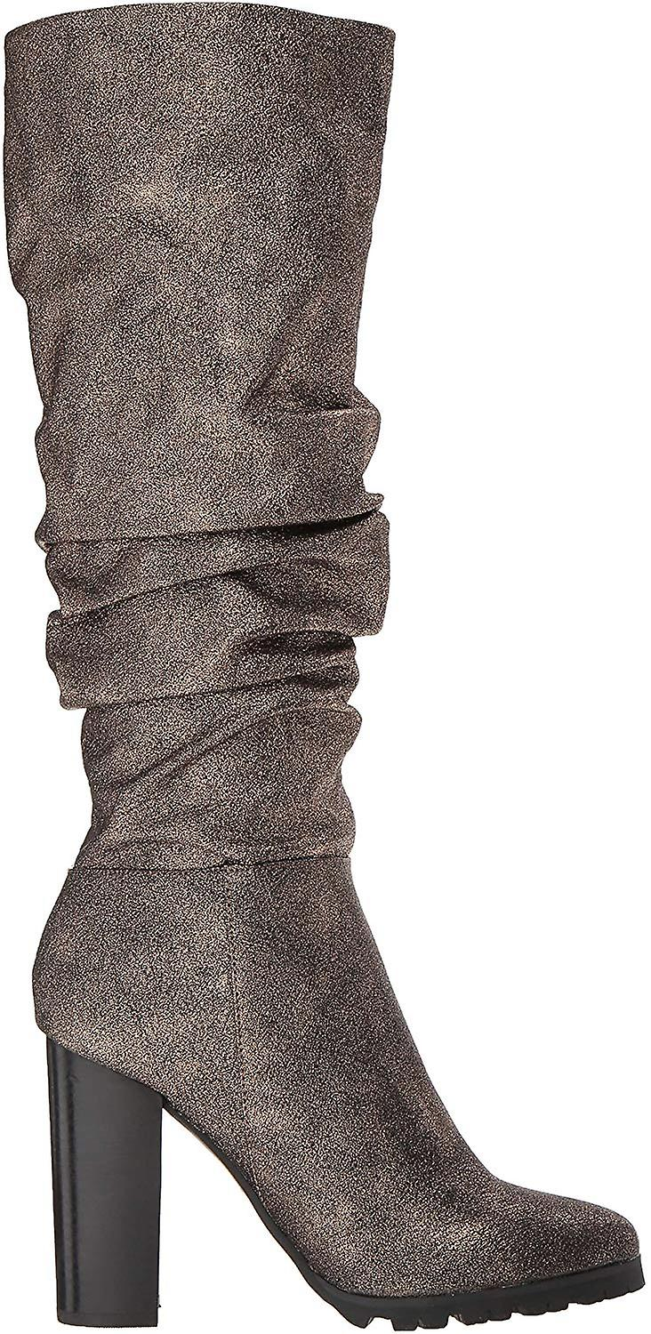 Katy Perry Women's The The Oneil Knee High Boot, Bronze, 7 M M US