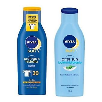Solbeskyttelses sæt protege & Hidrata nivea (2 stk)