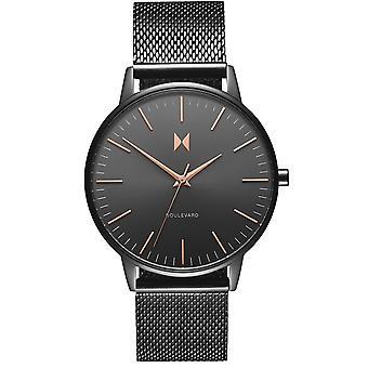 MVMT D-MB01-GUM Watch - Milanese Women's Black Maille Watch