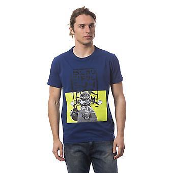 T-shirt manches courtes Bleu Bagutta homme