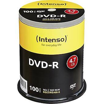 Intenso 4101156 Blank DVD-R 4.7 GB 100 pc(s) Spindle