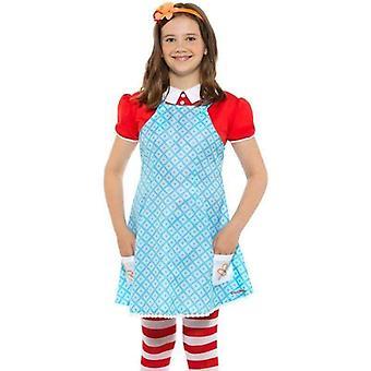 Famous Five Anne Costume Kids Blue