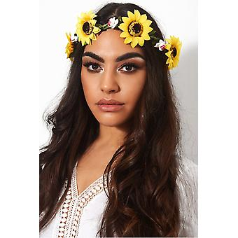 Large Sunflower Festival Hairband
