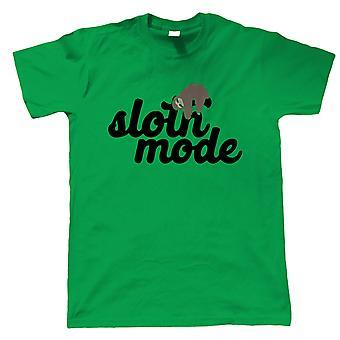 Modo perezoso, camiseta para hombre - Animales le regalan papá