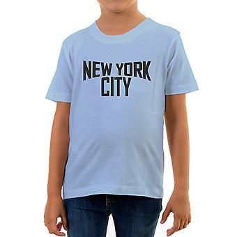 Reality glitch new york city kids t-shirt