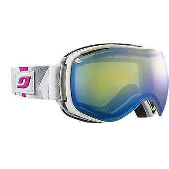 Julbo Ventilate Ski Mask White Spectron 1 Yellow Flash Blue