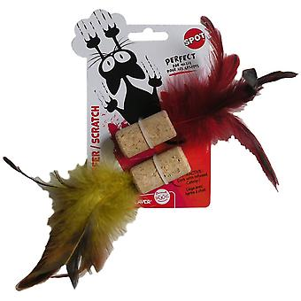 Agrobiothers Cork Feather Cat Toy (Koty , Zabawki , Zabawki pluszowe i piórka)