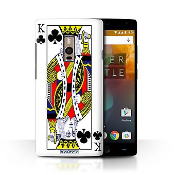 STUFF4 Case/Cover for OnePlus 2/Two/King of Clubs/Playing Cards