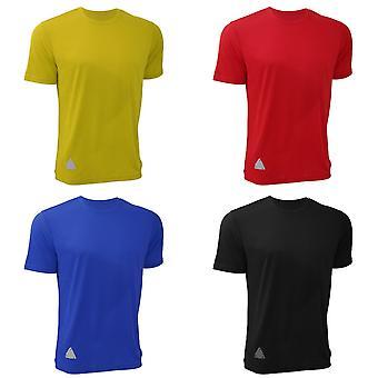 RTY Mens hoge zichtbaarheid verbeterd dynamische T-Shirt