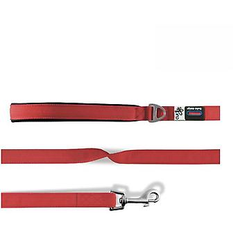 Curli Rote Basic Nylon Hundeleine (Hunde , Für den Spaziergang , Leinen)