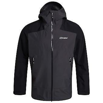 Berghaus Grey Pinstripe Mens Paclite Peak Vented Jacket
