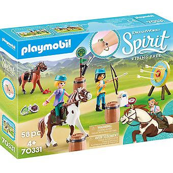 Playmobil DreamWorks Spirit 70331 Açık Macera 58PC Playset