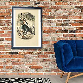 Charles Dickens - Scrooge Poster Print Giclee