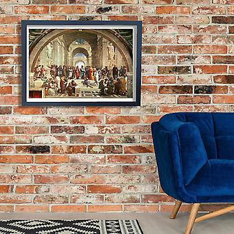 Raphael - The School of Athens Poster Print Giclee
