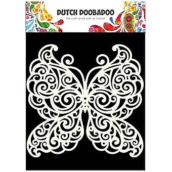 Dutch Doobadoo Dutch Mask Art stencil butterfly A5 470.715.500