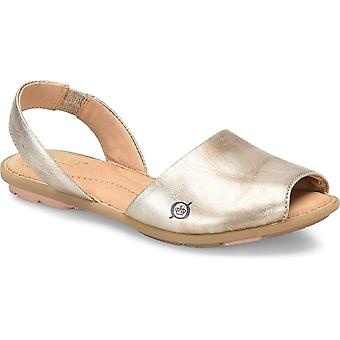 B.O.C Womens trang Leather Open Toe Casual Slingback Sandals