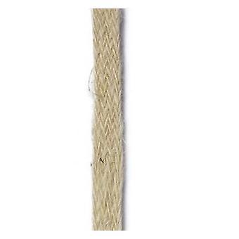 Vivant ribbon burlap natural 25m x 10mm