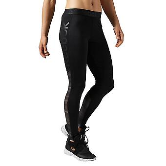 Reebok Workout Show Mesh Logo AY1869 universal all year women trousers