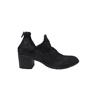 Elena Iachi A4579black Women's Black Leather Ankle Boots