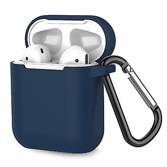 Airpod Case Silicon Extra Shock Resistant Dark Blue