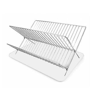 Rack de scurgere pliabil pentru privilegiul bucătăriei (43 x 32 x 24 cm)