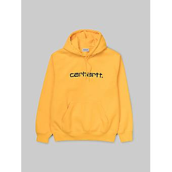 Carhartt WIP Mens Hooded Sweatshirt - Sunflower