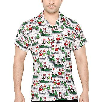 Club cubana men's regular fit classic short sleeve casualshirt ccx8