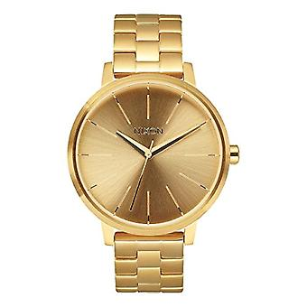 Nixon A099502-00 wrist watch, analog Display, female, stainless steel, gold color