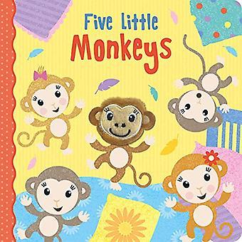 Five Little Monkeys by Jenny Copper - 9781789581584 Book