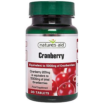 Nature's Aid Cranberry 200mg Tabletten 30 (18410)