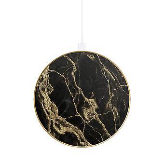 iDeal of Sweden mode Qi oplader - Golden Smoke Marble