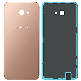 Housing part back cover, spare part for Samsung Galaxy J4 Plus - Gold