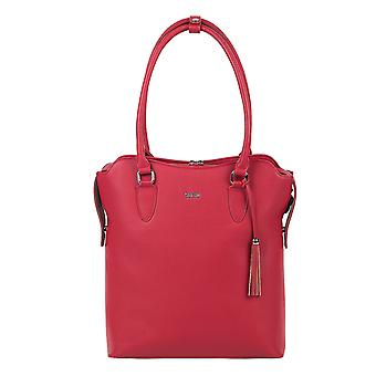 SOCHA Women's Handbag 4WAY 32 cm, Red