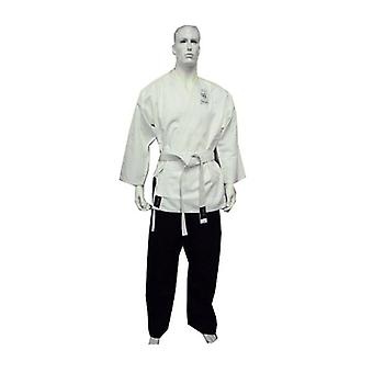 Yamasaki Pro Salt And Pepper Karate Uniform 10 Oz